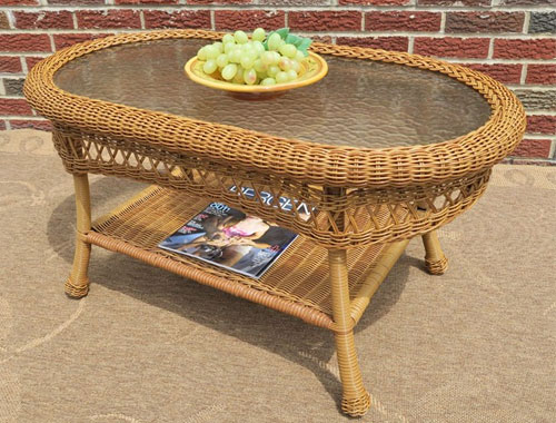Wicker Table Manufacturer in Delhi